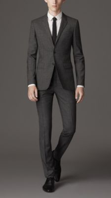 Travel Tailoring Wool Prince of Wales Check Suit #suit #menstyle #menswear