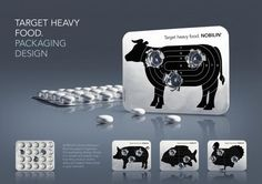 The Design & Branding titled TARGET HEAVY FOOD was done by BBDO Germany advertising agency for product: DIigestion Aid (brand: Medicom Pharma) in Germany. It was released in the Jun 2011.