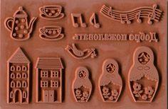 Matryoshka stamp