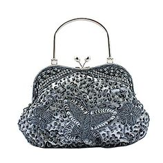Gorgeous Satin Evening Handbags/ Clutches/ Top Handle Bags More Colors Available – USD $ 23.69