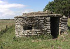 WWII Pillbox on Northumberland coast