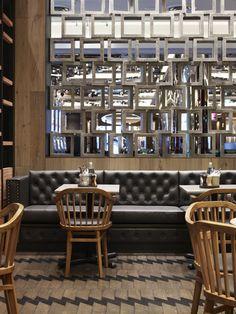 Gallery | Australian Interior Design Awards : Cotta (interesting use of materials)