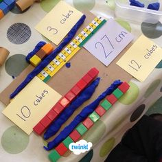 Twinkl measuring length activity How long is your play dough worm? Use these great activity mats to do some practical maths, measuring length in your classroom.