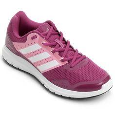 a16f2e31ac61c Tênis Adidas Duramo 7 Feminino - Rosa e Vermelho