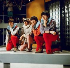 The Beatles celebrate Shakespeare's 400th birthday, April, 1964 // Wut. ...What??? Where on earth do I pin this?!