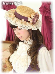 Resultado de imagen para lolita straw hat