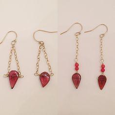 Handmade earrings by Raised By Wolves NYC ✨✨✨