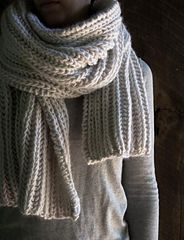 Ravelry: Seafaring Scarf pattern by Purl Soho