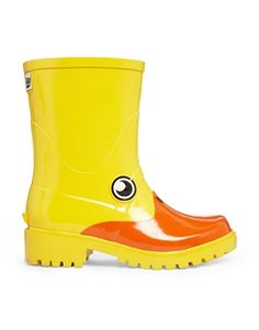 Womens Yellow Juju Jellies Kigu Duck Boots | schuh | Wardrobe Wish ...