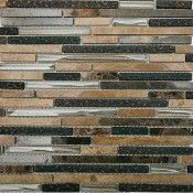 Arcadia Karri Random Brick Glass and Stone Tile