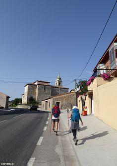 Entering Villafranca Montes de Oca #Camino 2015 july McG