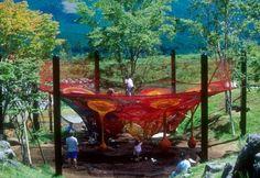 outdoor crochet playground