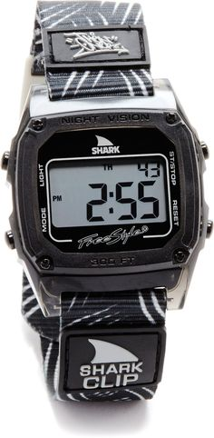 Freestyle Unisex Then One Shark Clip Digital Watch