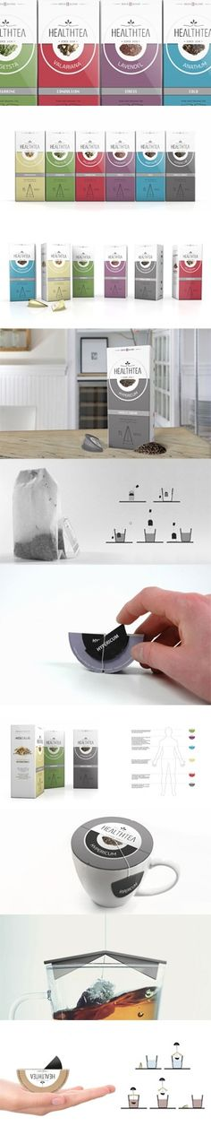 HealthTea concept by MAS