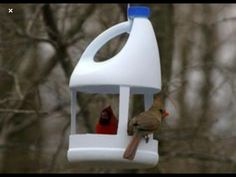 Recycling plastic bottles for Vog . - Recycling plastic bottles for bird feeders creative ideas for recycling crafts - Plastic Bottle Crafts, Recycle Plastic Bottles, Plastic Recycling, Plastic Plastic, Pet Recycling, Recycling Ideas, Recycled Crafts Kids, Easy Crafts, Recycled Decor