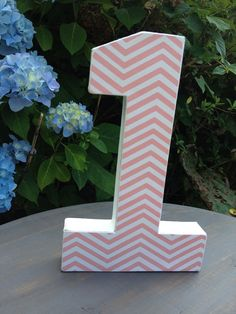 Hey, I found this really awesome Etsy listing at http://www.etsy.com/listing/155307640/pink-chevron-number-1-birthday-photo