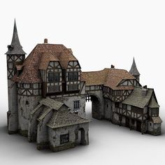 People enjoy Minecraft because of three very simple elements, property, replayability along with Fantasy Castle, Fantasy House, Medieval Fantasy, Medieval Houses, Medieval Town, Minecraft Medieval House, Medieval Castle, Detail Architecture, Classical Architecture