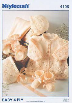 Ravelry: Baby Layette pattern by Stylecraft