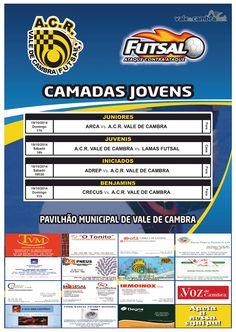 Futsal: ACR Formação > 18 e 19 Out 2014  #ValeDeCambra #futsal