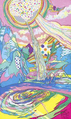 El universo multicolor de Asakura Kouhei.