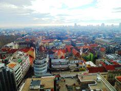 Zagreb from viewpoint Croatia, Paris Skyline, Travel, Viajes, Destinations, Traveling, Trips