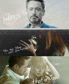 Iron Man 3. If they kill Pepper I will literally kill myself.