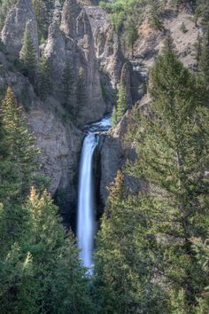 Tower falls - Yellowstone National Park - Wyoming, USA