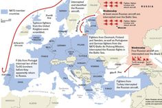 NATO says Russian jets, bombers circle Europe in unusual incidents - The Washington Post Russian Bombers, Political Geography, Russian Jet, Second Day, North Sea, Baltic Sea, Jets, Finland