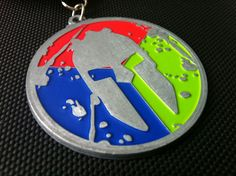 @Tiffany Webster Johnson Race trifecta medal....you'll be mine