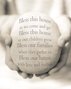 Bless this House Print Housewarming Gift by OceanDropPhotography, $26.00