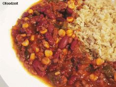 Mein angepasstes Chili con Carne Rezept, Achtung scharf My own take on the mexican chilli con carne with a twist