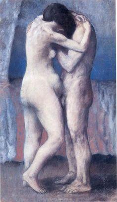 The Embrace (1903) - Pablo Picasso