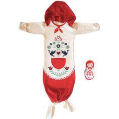 Matriochka Sleepsack. With removable Doll.