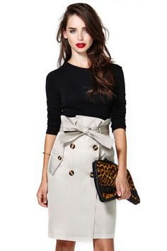Almost Friday Skirt - Great work outfit Taylor!