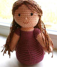 Coraline Doll Free Crochet Pattern Amigurumi To Go : Hakel-Puppen on Pinterest Amigurumi, Crochet Doll ...