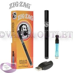 Vaporizer Outlet - ZIG-ZAG STEALTH VAPORIZER KIT, $39.99 (http://www.endlessbargainsblvd.com/zig-zag-stealth-vaporizer-kit/)ZIG-ZAG STEALTH VAPORIZER KIT Zig-Zag Stealth Vaporizer Kit! This Slender pen style vaporizer is made from high quality materials with a unique centered wickless Ceramic Heating Chamber for smooth sessions. This vaporizer is lightweight, portable and discrete. It's great for dry herbs and waxy oils and already comes with 1 Nano Cartridge for E-Liquids.