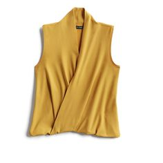 Spring Stylist Picks: Yellow sleeveless knit