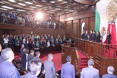 Los diputados locales de los distintos partidos políticos refrendaron su compromiso para legislar a favor de la ciudadanía; así como para perfilar los retos y temas que abordaran durante el ...