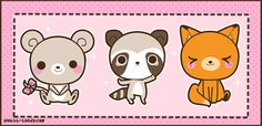 kawaii animals - Buscar con Google