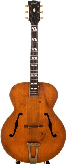 Lot: 1947 Gibson Natural Archtop Acoustic Guitar,, Lot Number: - Different and beautiful ideas