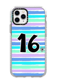 CASETiFY iPhone 11 Pro Case - Sweet 16 heart on mermaid stripes by Blue Paper Garden Iphone 11 Pro Case, Iphone Cases, 16th Birthday Gifts For Girls, 2015 Ipad, Apple Watch Models, Apple Watch Series 2, Facebook Photos, Tech Accessories