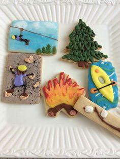 Rock climbing cookies