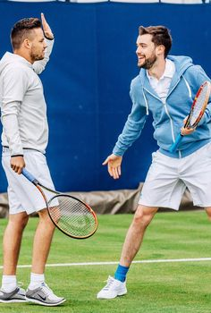 Liam with Jack Whitehall again.