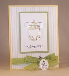Short & Sweet, A Slice of Life, Baby Bundle, You're a Gem and Baby Tees Jumbo Wheel - Stampin' Up!
