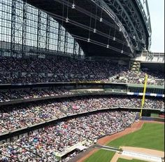 So privileged to be in that audience.  What an experience!!!!  Milwaukee 2014 regional convention of Jehovah's Witnesses.  Miller Park (Brewer's stadium)