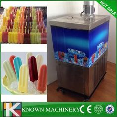 Stainless steel Export EU water cooling/air cooling popsicle machine maker with single mould