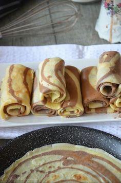 Crêpes tourbillon vanille et chocolat - Le blog de C'est Nathalie qui cuisine