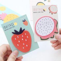 Fruity Sticky Note Pad for $1.99 USD at www.kawaiipenshop.com
