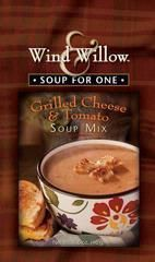 Wind and Willow Grilled Cheese and Tomato soup is reminiscent of a childhood favorite. Just add 6 cups of water and simmer. Made in Missouri.