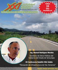 No te pierdas la ponencia del Ing. Manuel Rodríguez en el XXI Reunión Nacional, más información: www.amivtac.org